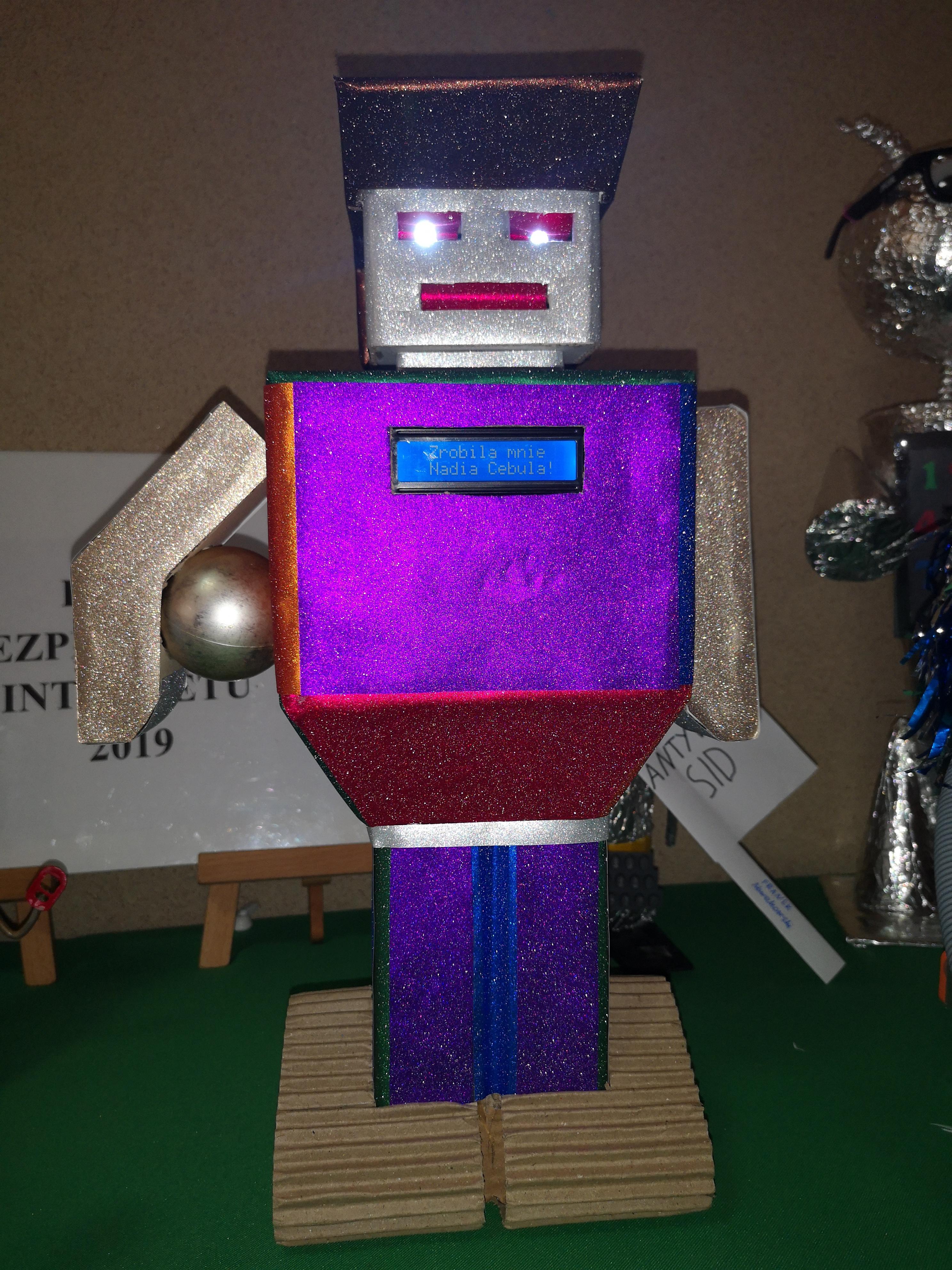konkurs CyberRobot XXI w.